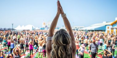 8 Hours of Wellness: Inside Wanderlust at the Santa Monica Pier