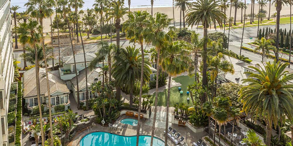 Fairmont Miramar Pool Santa Monica