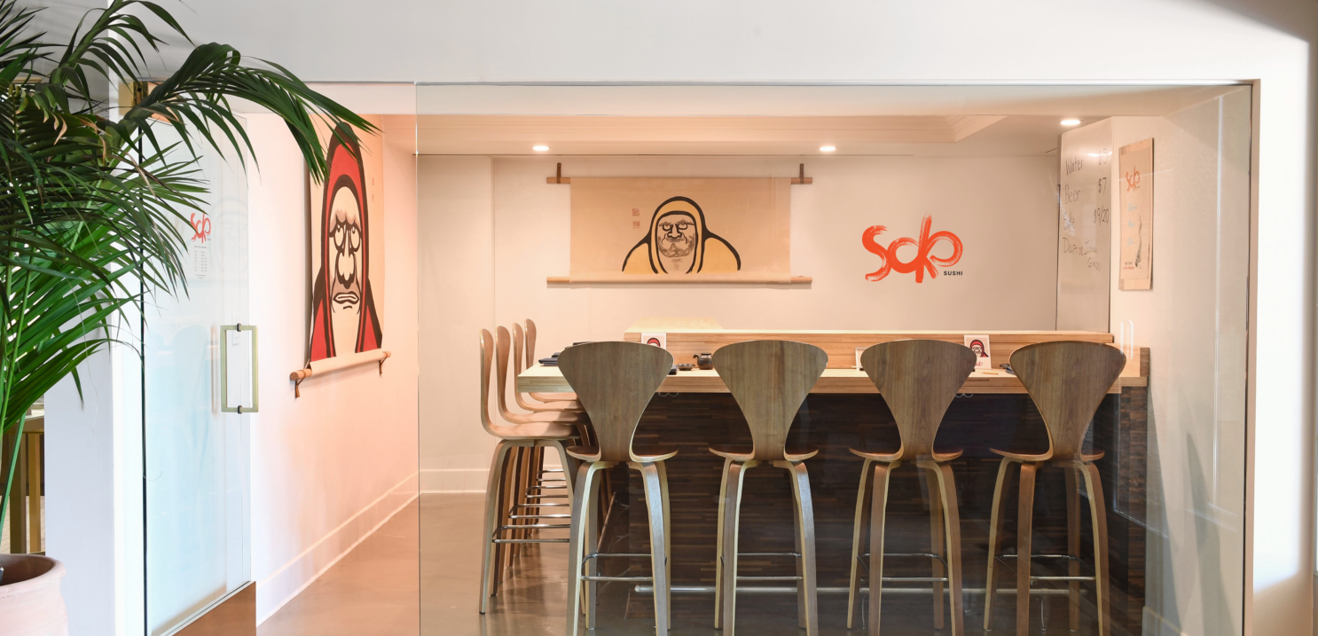 Soko, A New Sushi Pop-Up Experience
